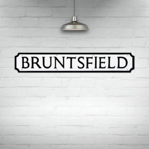 Buy Edinburgh Street Signs, Bruntsfield Street Sign