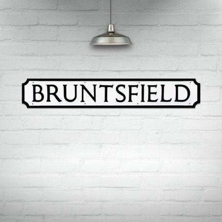 Buy Edinburgh Street Signs, Bruntsfield Street Sign