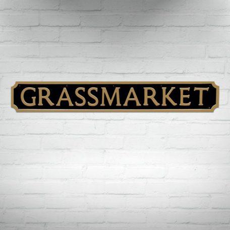 Buy Edinburgh Street Signs, Grassmarket Street Sign