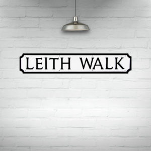 Buy Edinburgh Street Signs, Leith Walk Street Sign