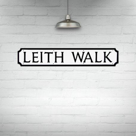 Buy Edinburgh Street Signs, Leith Walk Street Sign