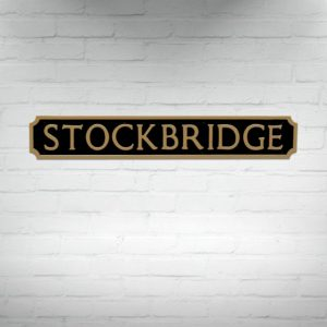 Buy Edinburgh Street Signs, Stockbridge Street Sign