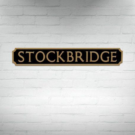 Buy Edinburgh Street Signs, Stockbridge Street Sign