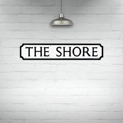 Buy Edinburgh Street Signs, The Shore Street Sign