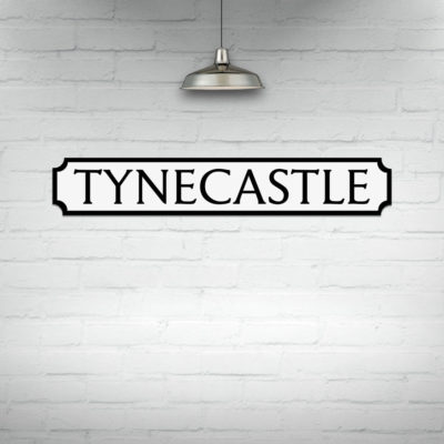 Tynecastle Street Sign