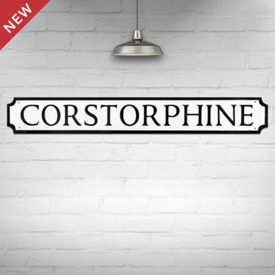 Corstorphine Street Sign
