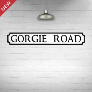 Gorgie Road Street Sign