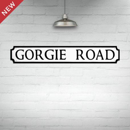 Gorgie Road Street Sign