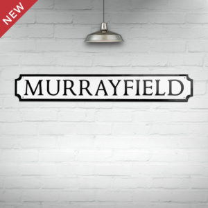 Murrayfield Street Sign